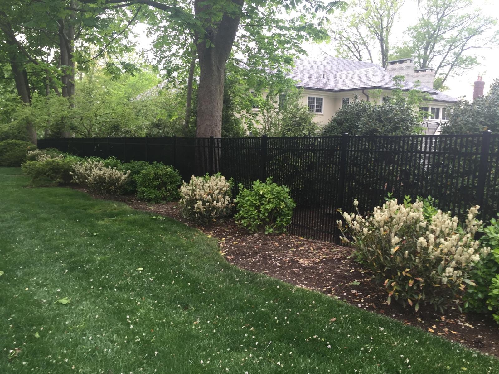 scarsdale fence company aluminum fences