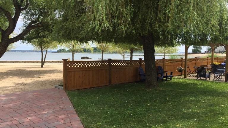luxury wood fences