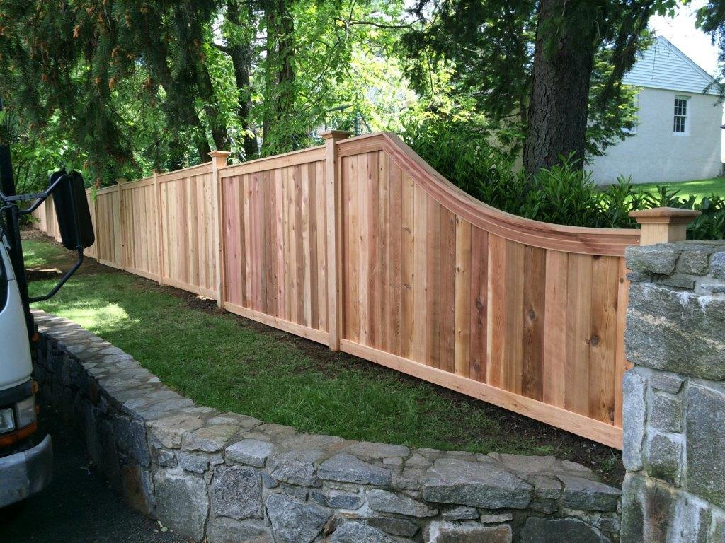 wood fence outdoor fencing