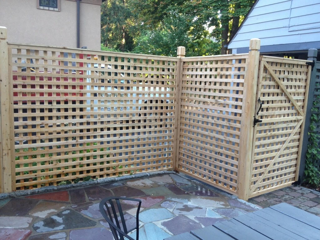 Lattice Fence In Mount Vernon Westchester Fence Company