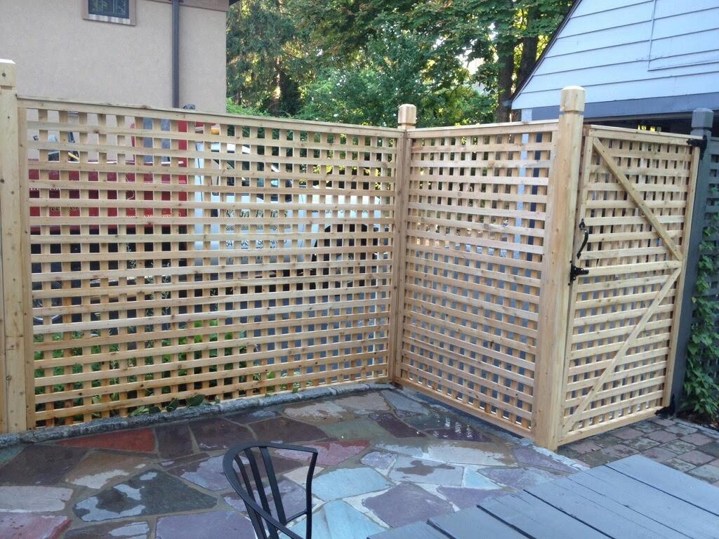 lattice fence in mount vernon