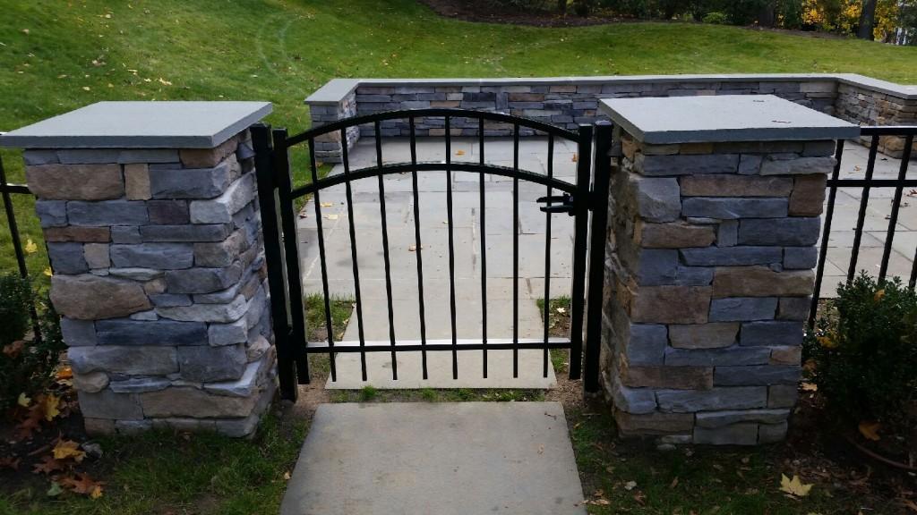 aluminum arch gate