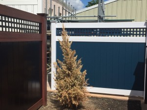 Westchester color vinyl fences