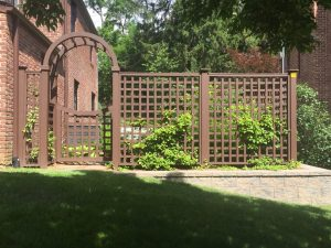 Wood Fence In Bedford Ny Westchester Fence Company 914