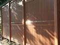 lattice vinyl mocha walnut