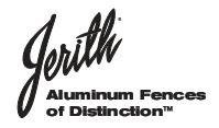 Aluminum Jerith Fences