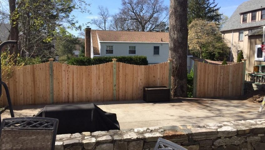 Armonk Wood Fences Archives Westchester Fence Company